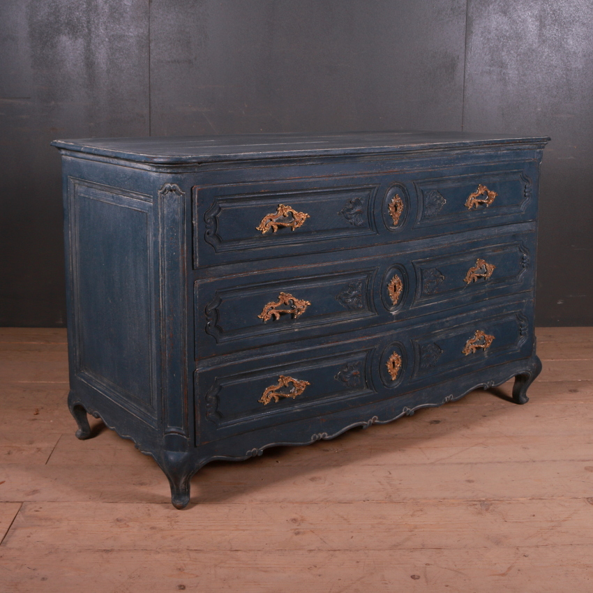 French Serpentine Commode