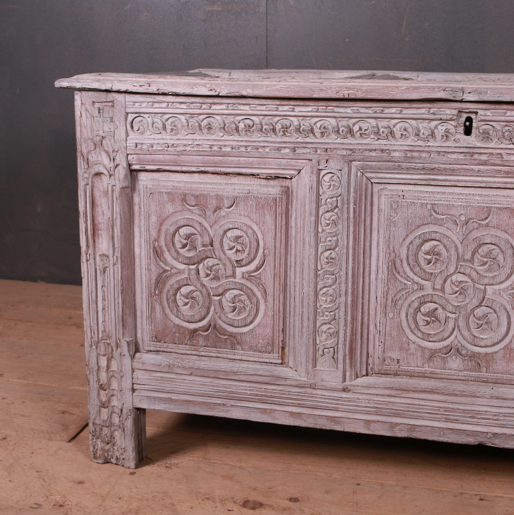 English Bleached Coffer