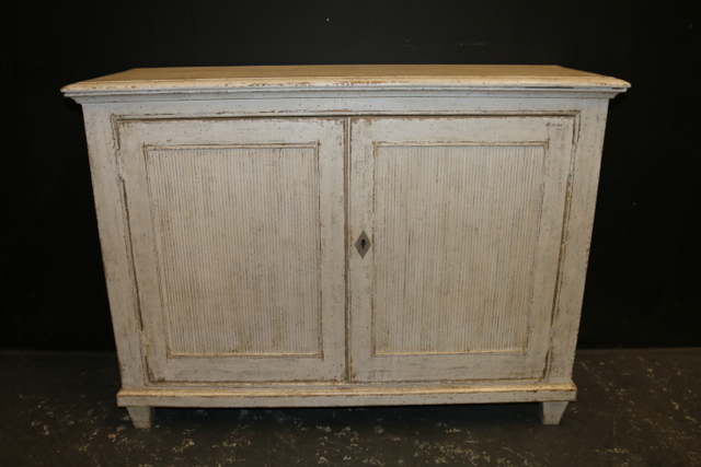 2 Door Painted Buffet