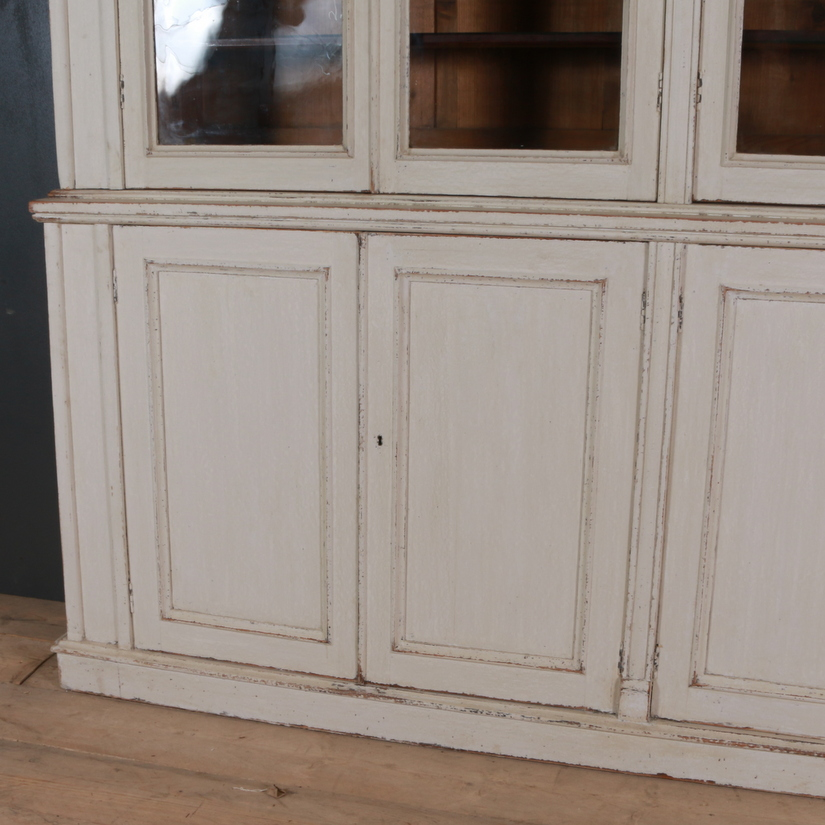 Country House Painted Bookcase/ Dresser