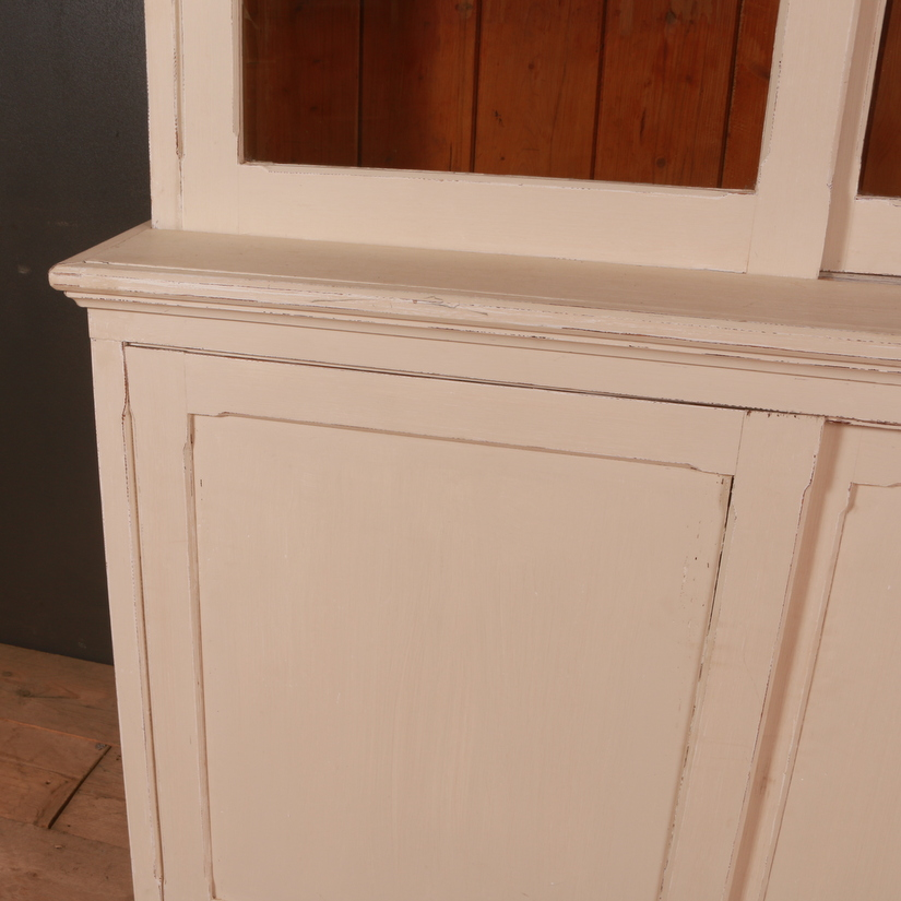 English Painted Bookcase / Dresser