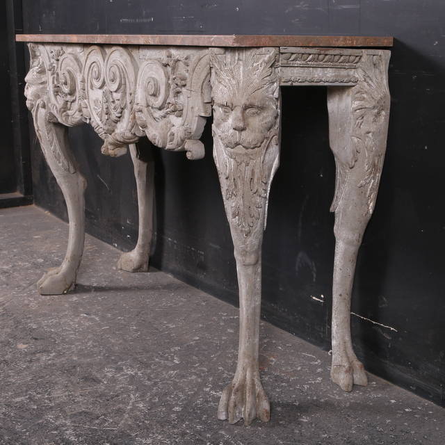 Pretty console table antique tables for Pretty html table