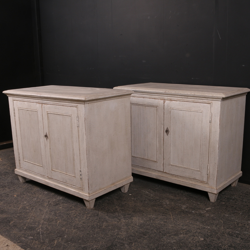Pair of Custom Built Buffets