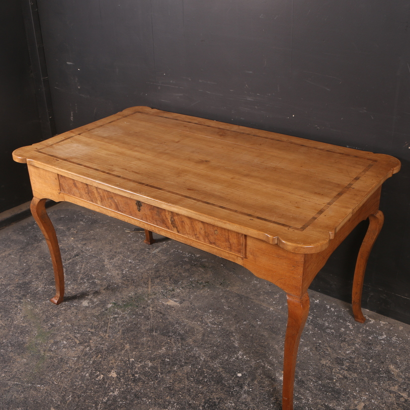 French Cherrywood Writing Desk