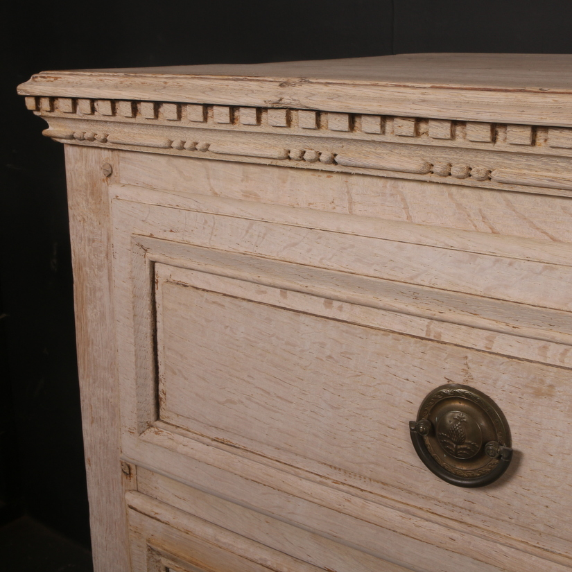 Neo-Classical Oak Commode