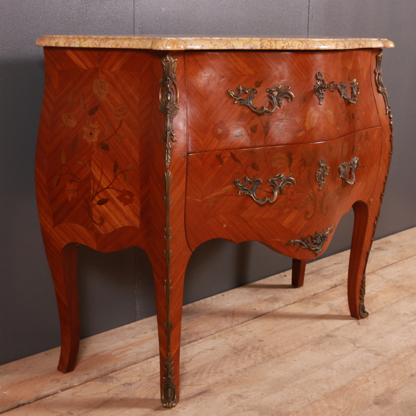 French Marquetry Commode