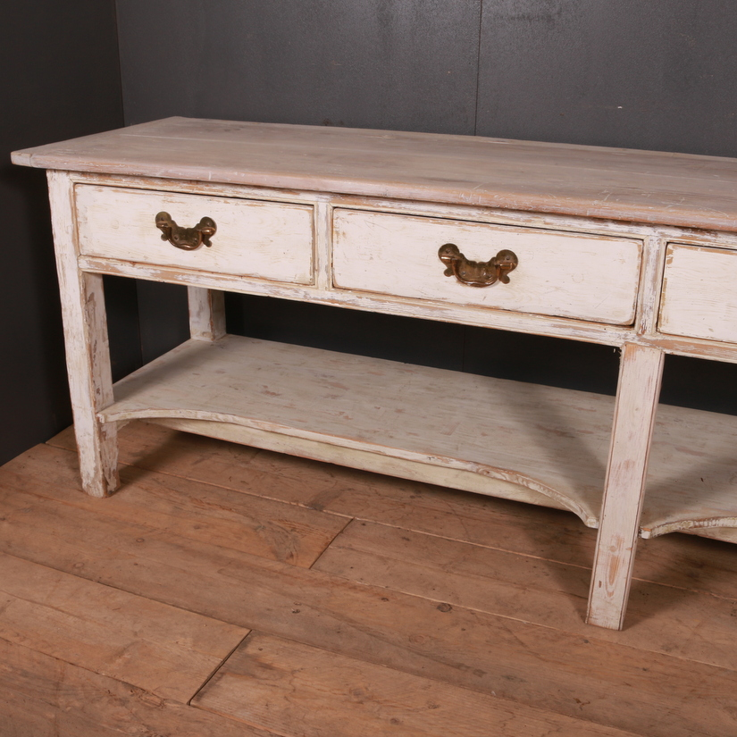 Original Painted Serving Table
