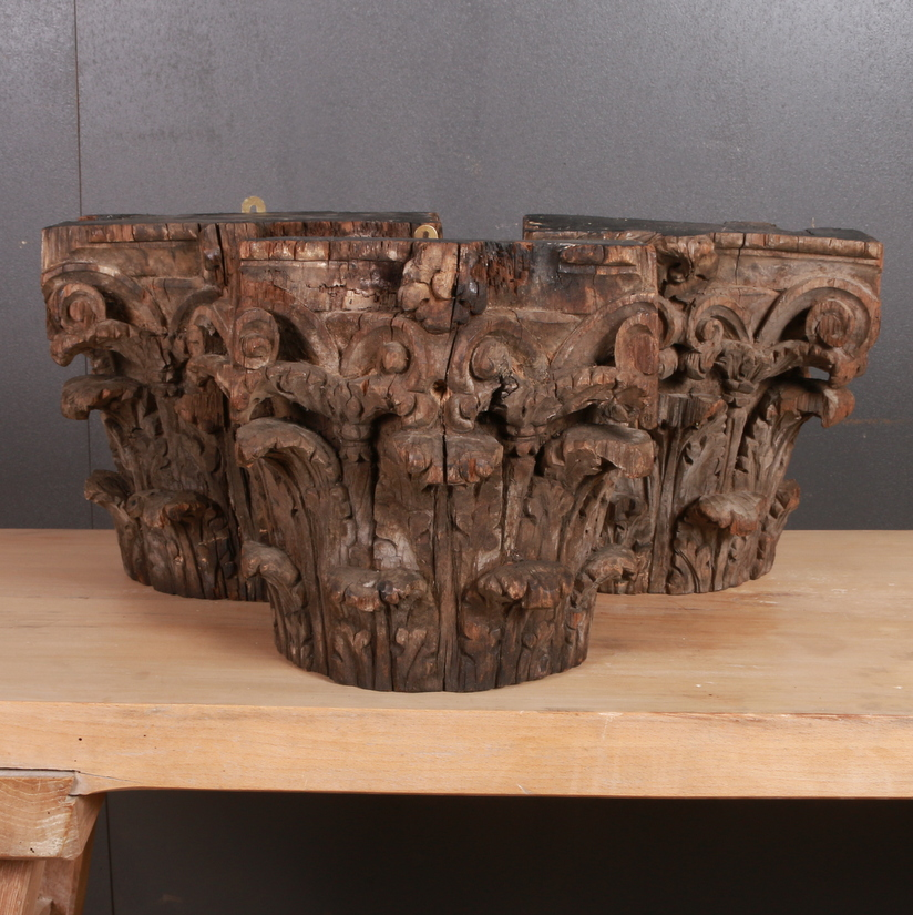 Set of Carved Capitals