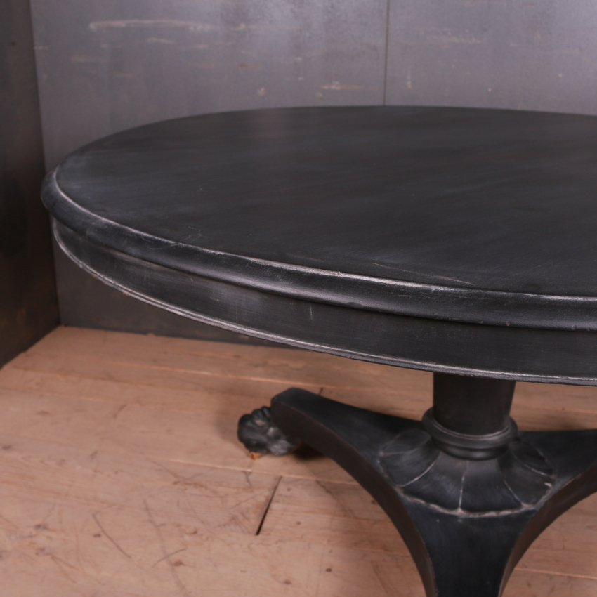Large Antique Breakfast Table