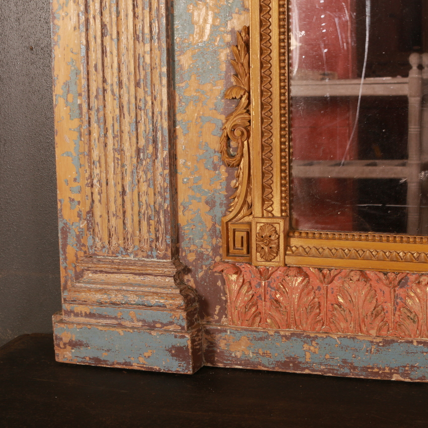 Original Painted French Mirror