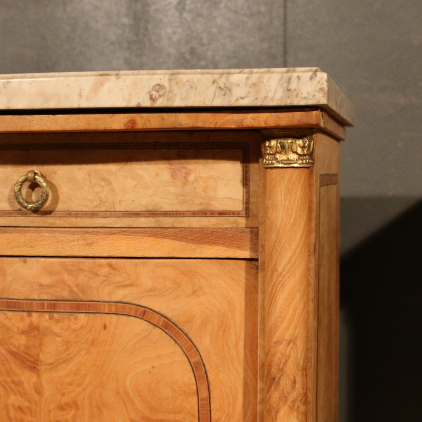 Pair of French Bedside Cupboard