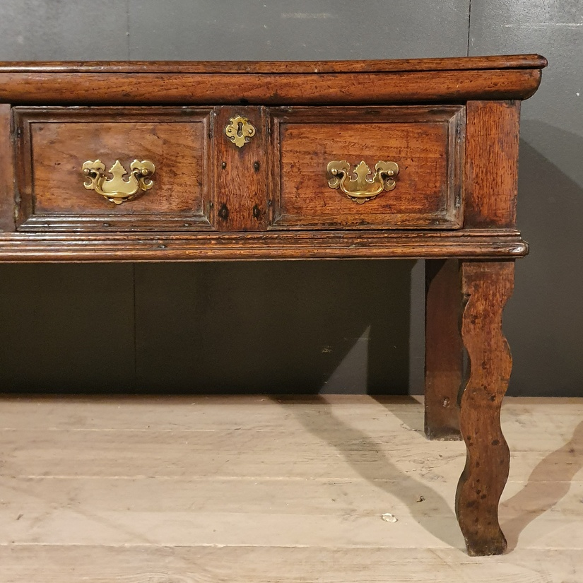 Unusual English Dresser Base