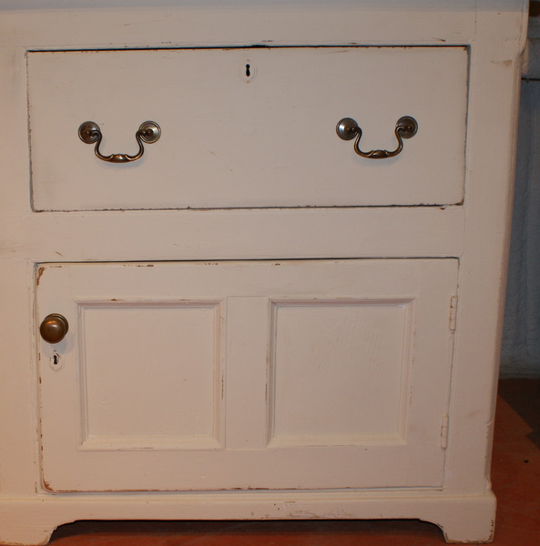 Painted Pine Country Dresser.