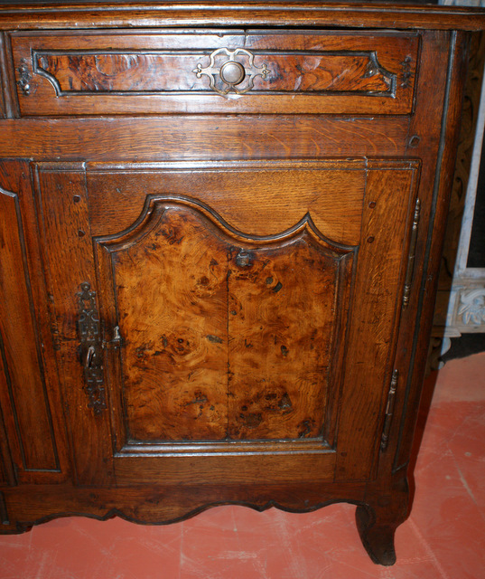 French And Bur Ash Enfilade