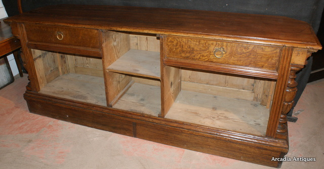 Unusual Pine Store Counter