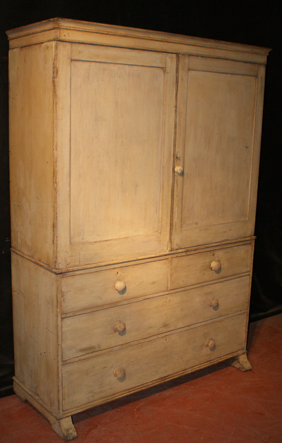 Original Painted Linen Press