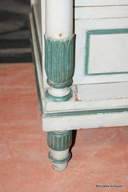 Original Painted Swedish Commode