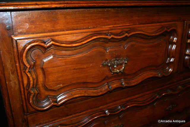 French Cherry Commode
