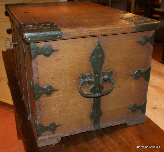 Swedish Iron Bound Coffer