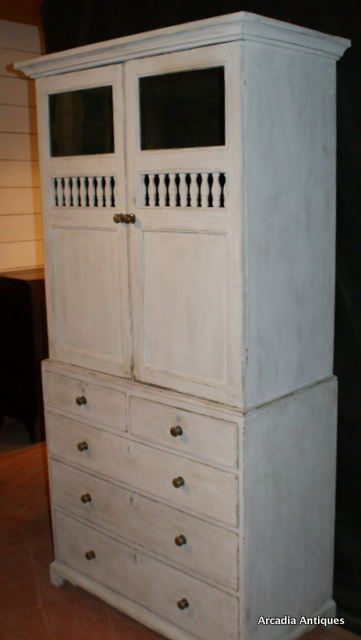 George III Bread and Cheese Cupboard