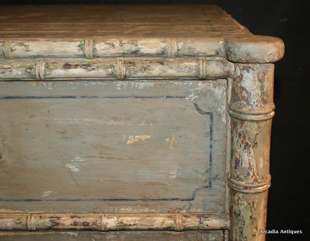 Faux Bamboo Chest of Drawers