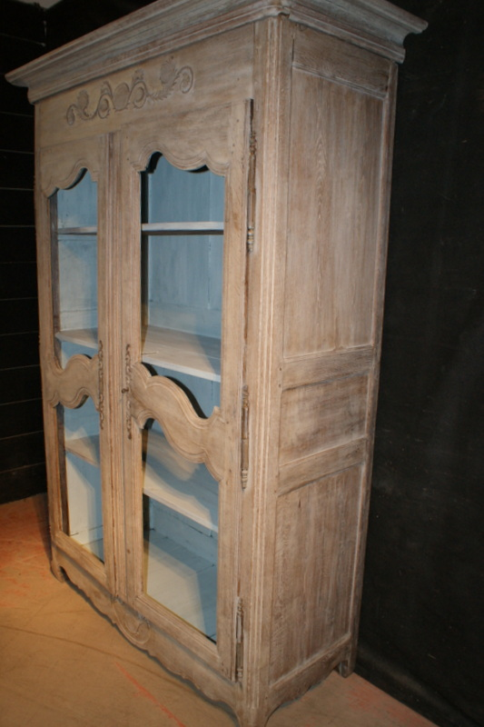 Bleached French Armoire