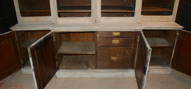 Bleached Scottish Bookcase