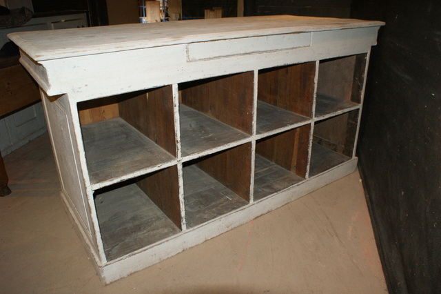French Painted Drapers Counter