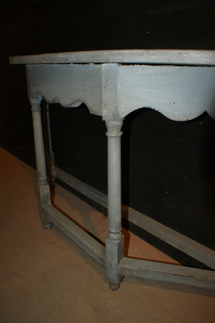 Painted Demi Lune Console Antique Console Tables