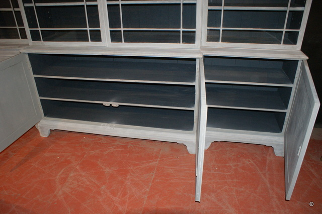 Breakfront Library Bookcase