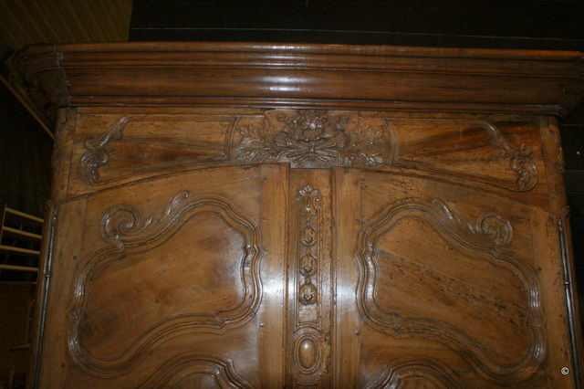 French Walnut Armorie