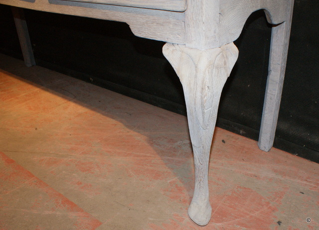 Carved Dresser Base