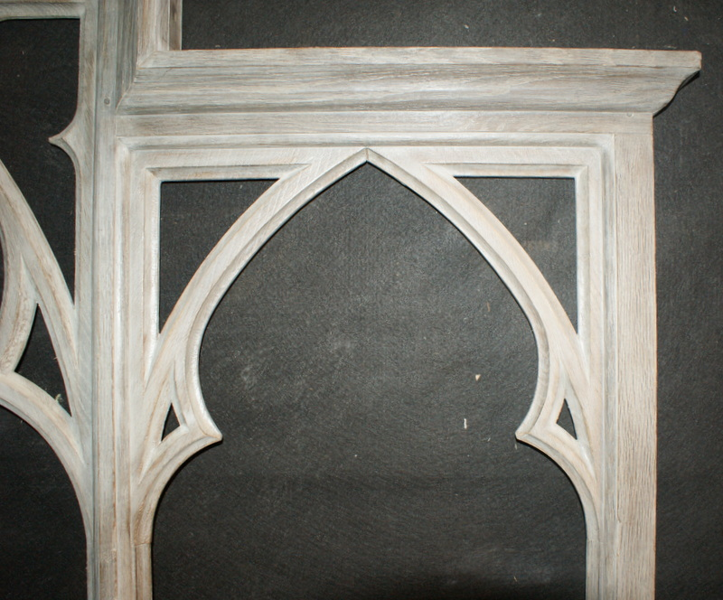 Bleached Oak Window Frame