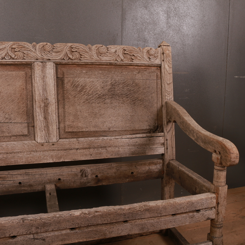 English Oak Settle