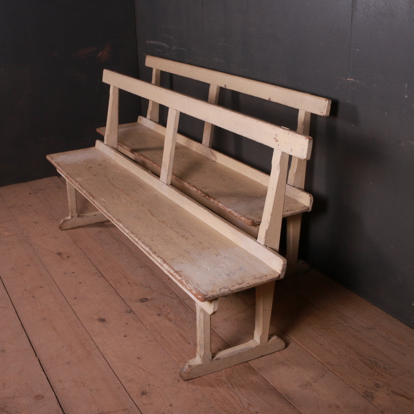 English Original Painted Benches