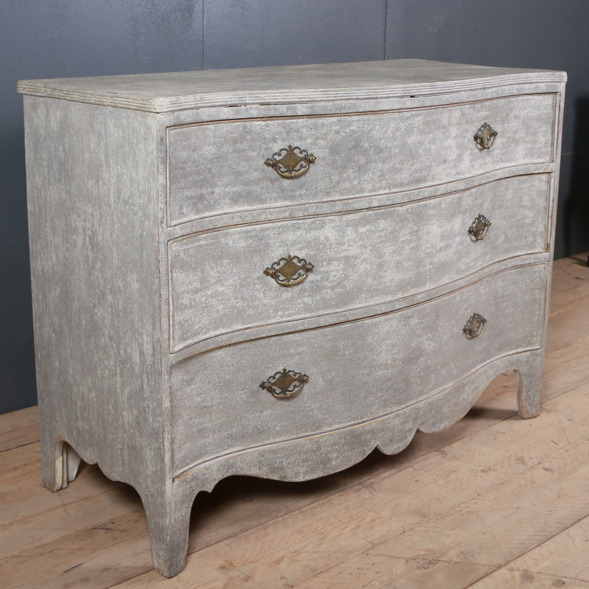 English Painted Commode