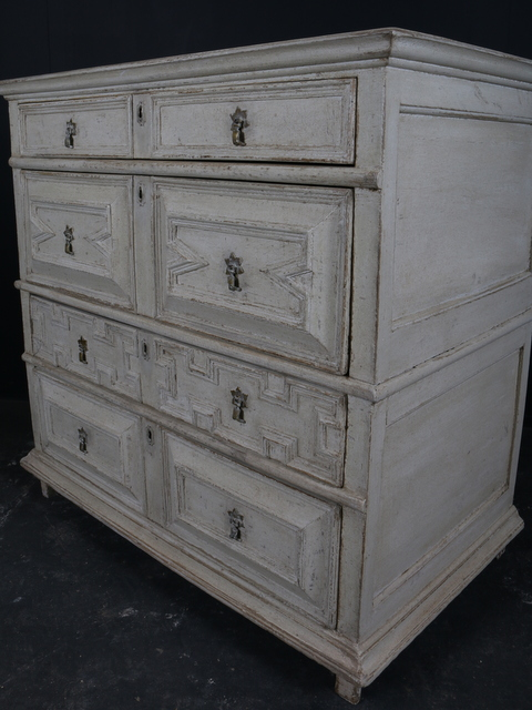 Geometric Chest of Drawers