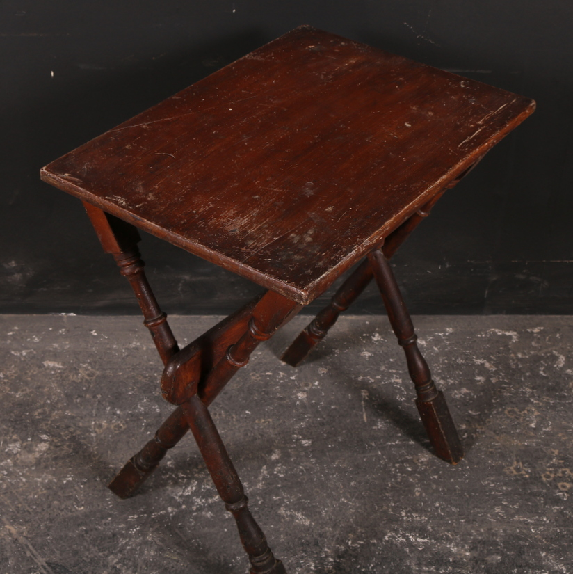 Trestle Type Lamp Table Antique Lamp Tables Antique Tables