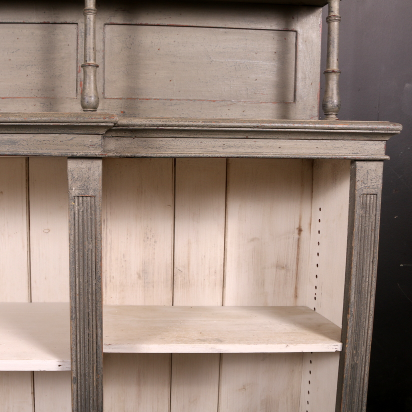 Victorian Open Bookcase