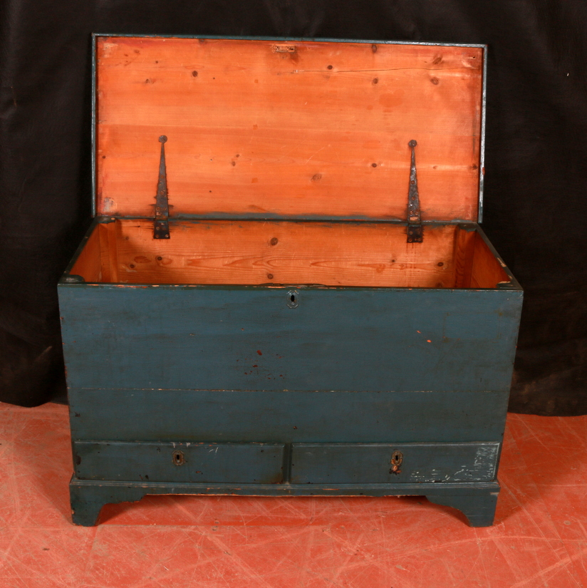 English Painted Coffer