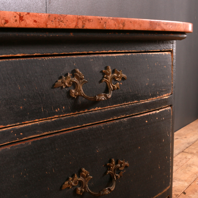 French Concave Front Commode