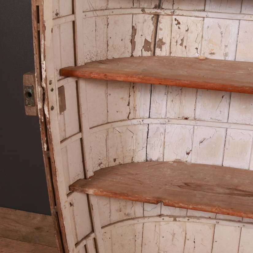 Clinker Built Boat Bookcase