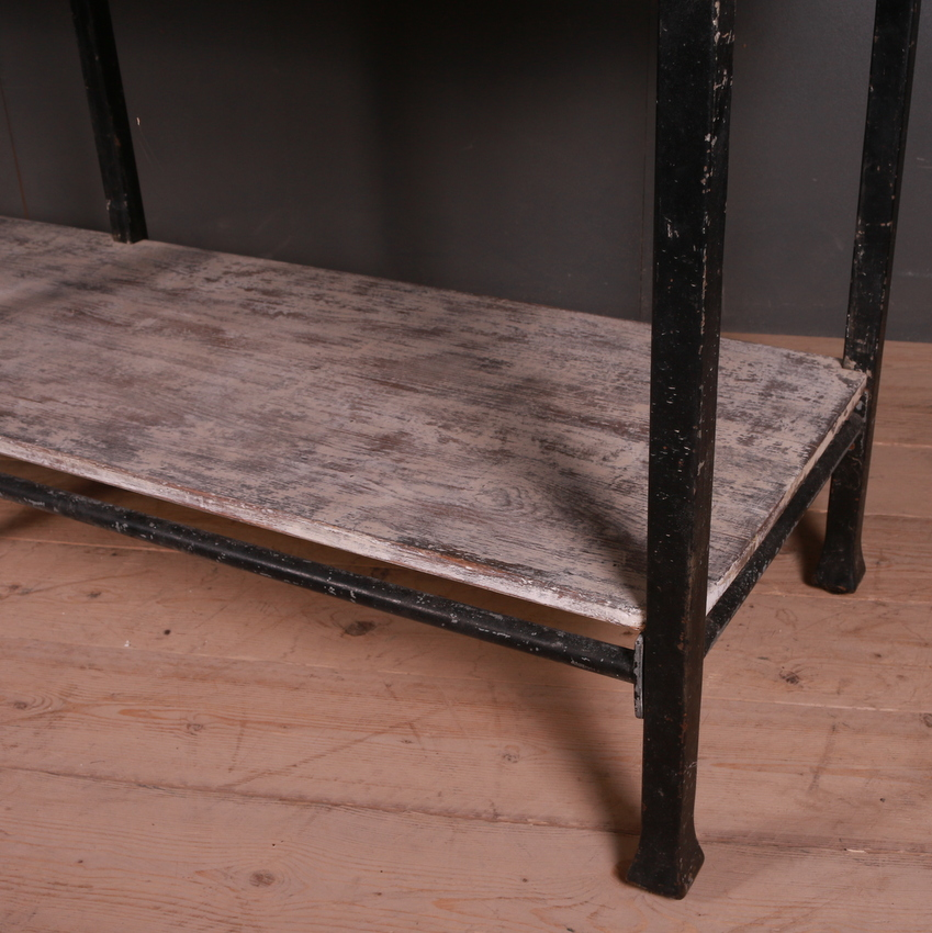 Industrial Style Drapers Table