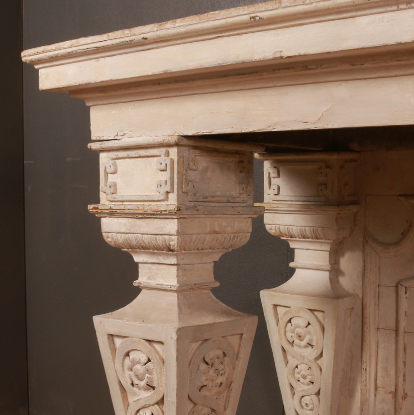 Italian Original Painted Console Table