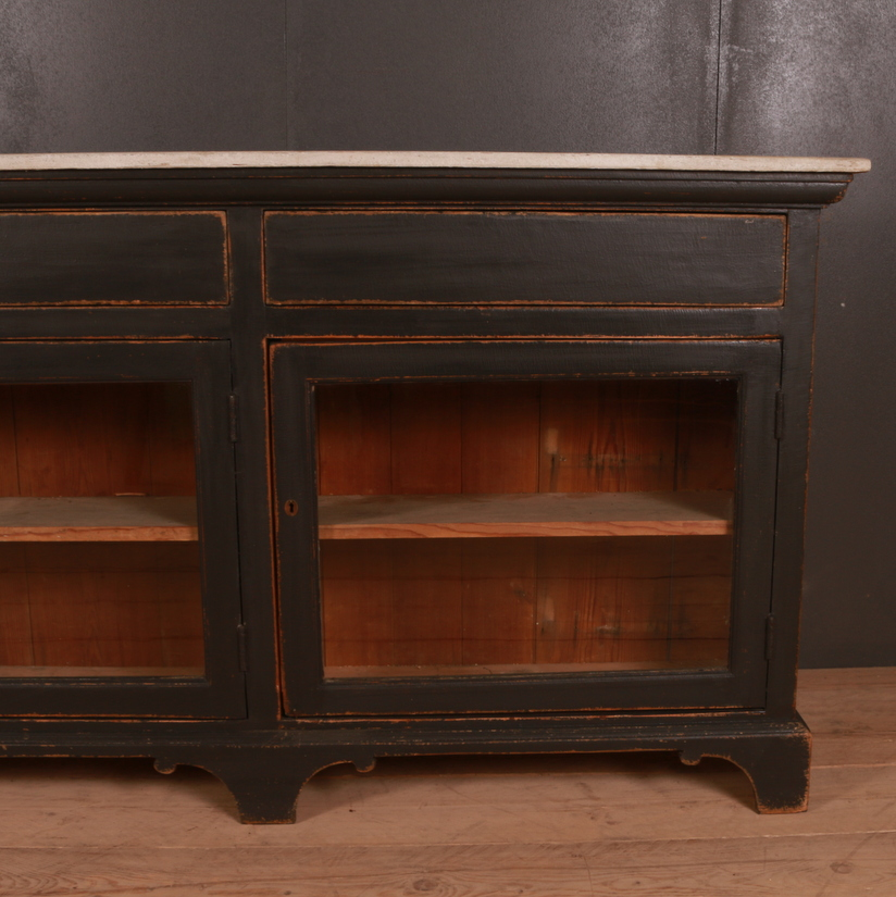 Custom Built English Style Painted Dresser Base