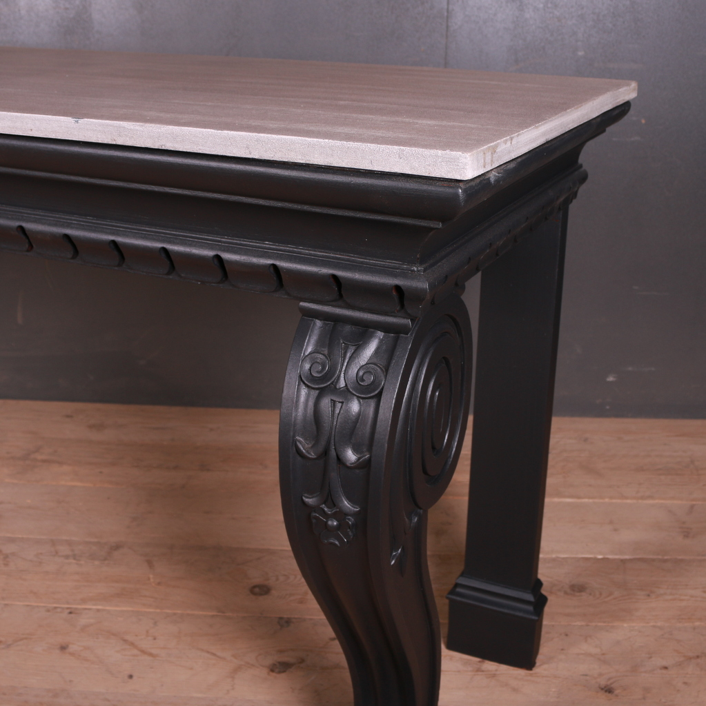 Scottish Oak Console Table