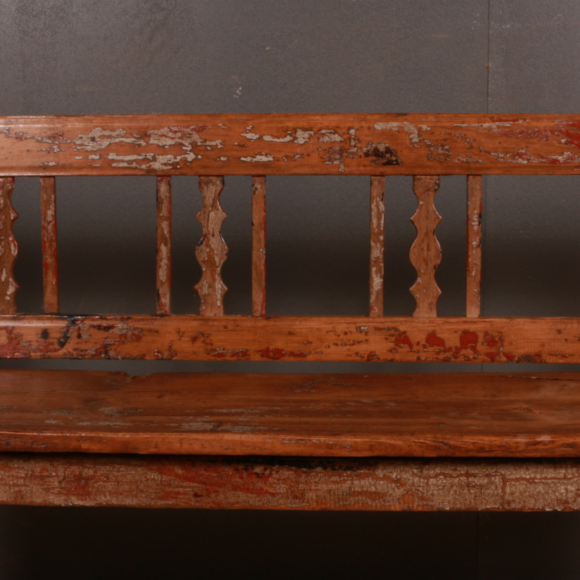 Small French Bench