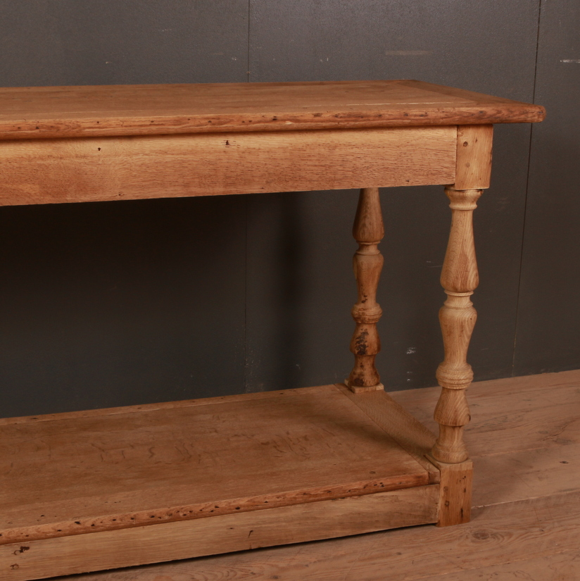 Antique French Oak Drapers Table