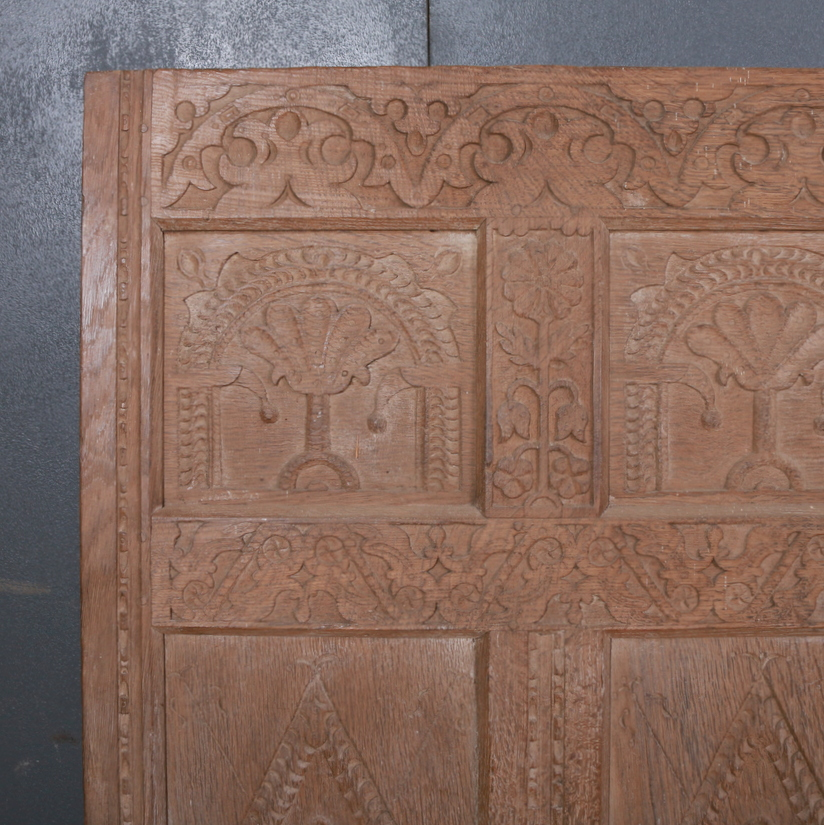 Carved Country House Settle