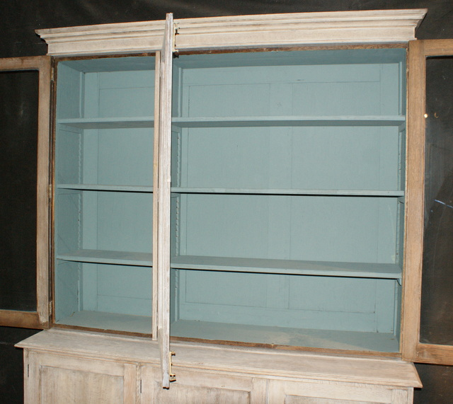 Bleached Glazed Bookcase